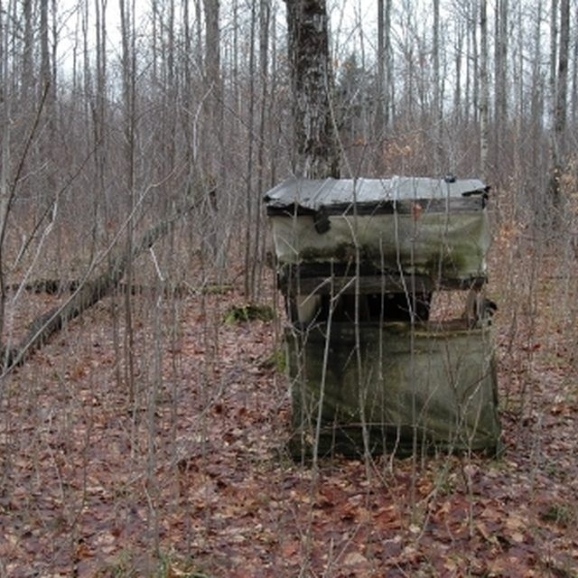 Homemade Deer Hunting Blinds