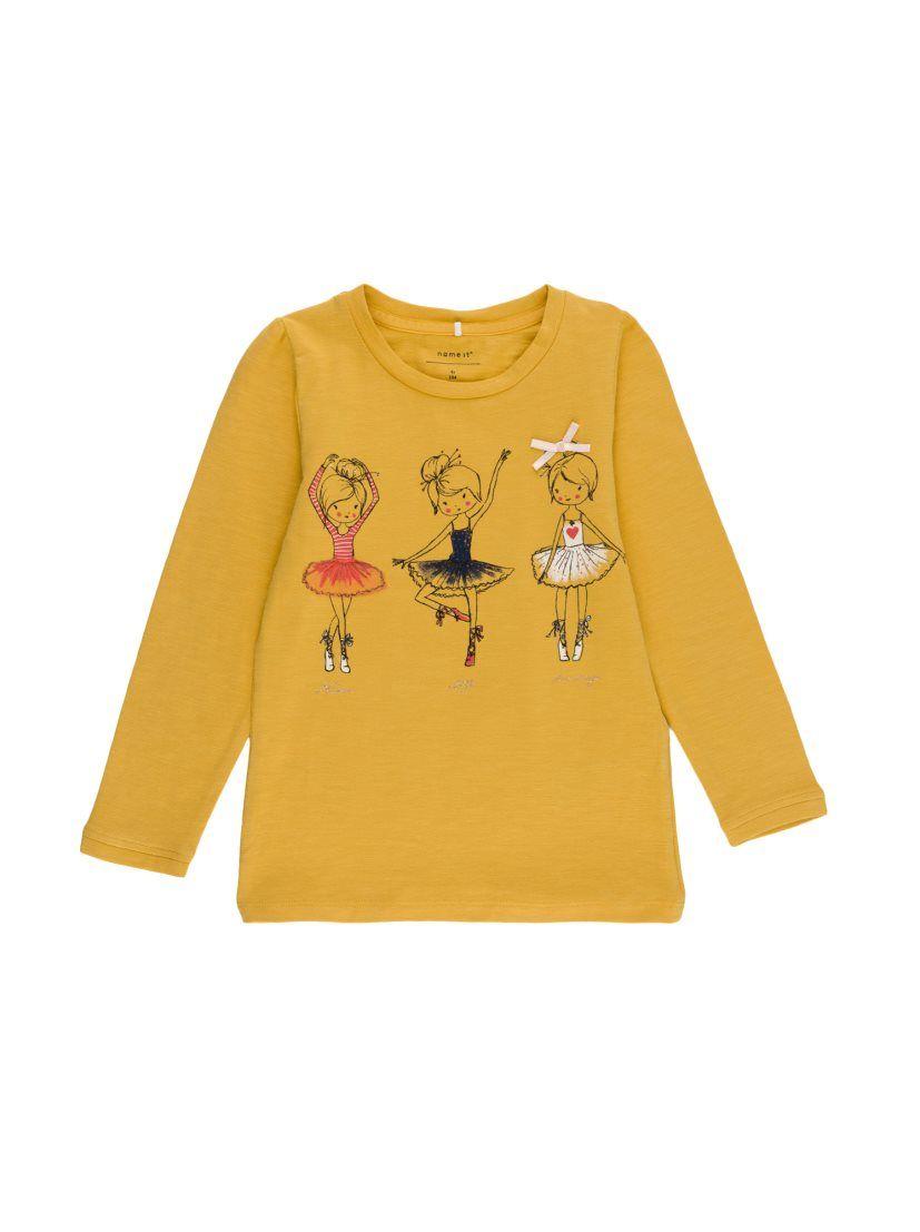 a3e0c4161 Camiseta niña manga larga print NAME IT