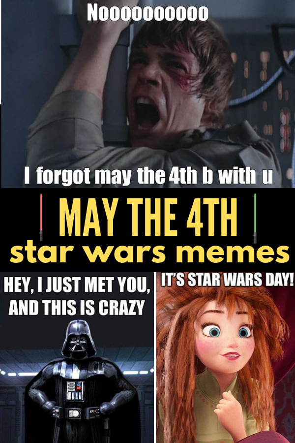 The Funniest May The 4th Memes For Star Wars Day Star Wars Day Memes Star Wars