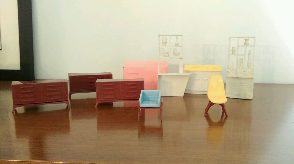 mid century modern dollhouse furniture. Mid Century Modern Dollhouse Furniture Brasilia Dressers Room Dividers Eames In Dolls \u0026 Bears, Miniatures, Items | EBay