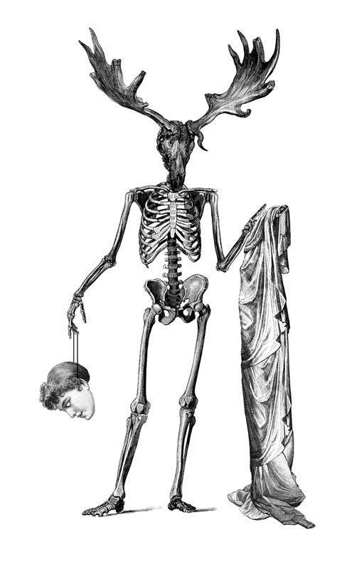 how to draw a skeleton body tattoo