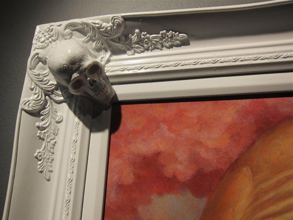 Chet Zar skull frame | Home stuff | Pinterest