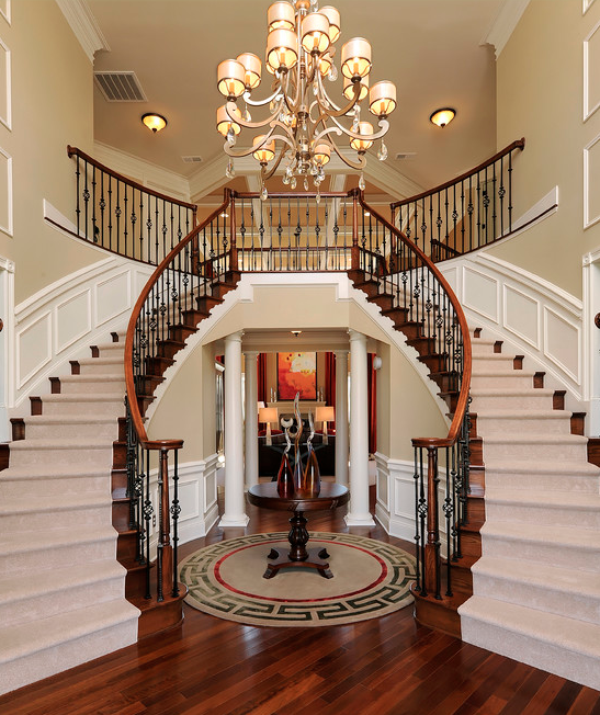 Look At Some Grand Foyers From Houzz Com