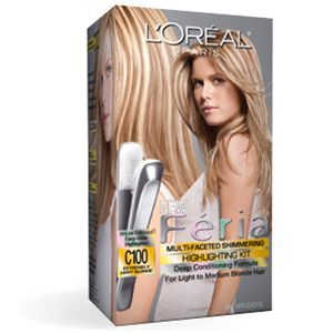 Fria multi faceted highlights multi faceted highlights c100 feria multi faceted highlights conditioning haircolor by loreal paris permanent hair dye that hydrates conditions hair while delivering rich pmusecretfo Images