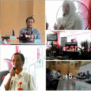 "Perpustakaan Bunga Bangsa ƸӜƷ: Talk Show Interactive Video Conference ""Hadir Untu..."