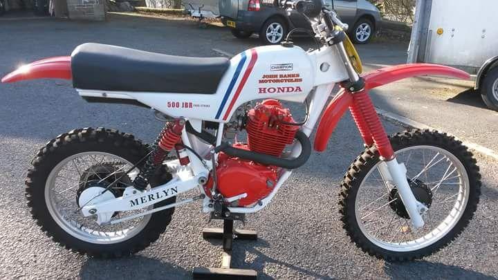 Provkörning Honda CRF 450 R/RX   Bike powered by Motorrad