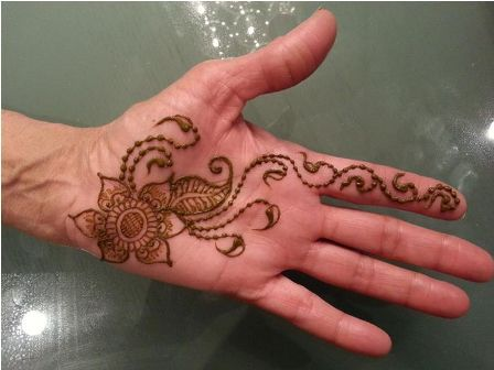 Mehndi Designs Simple Arabic Style : Mehendi designs simple includes collection of arabic design