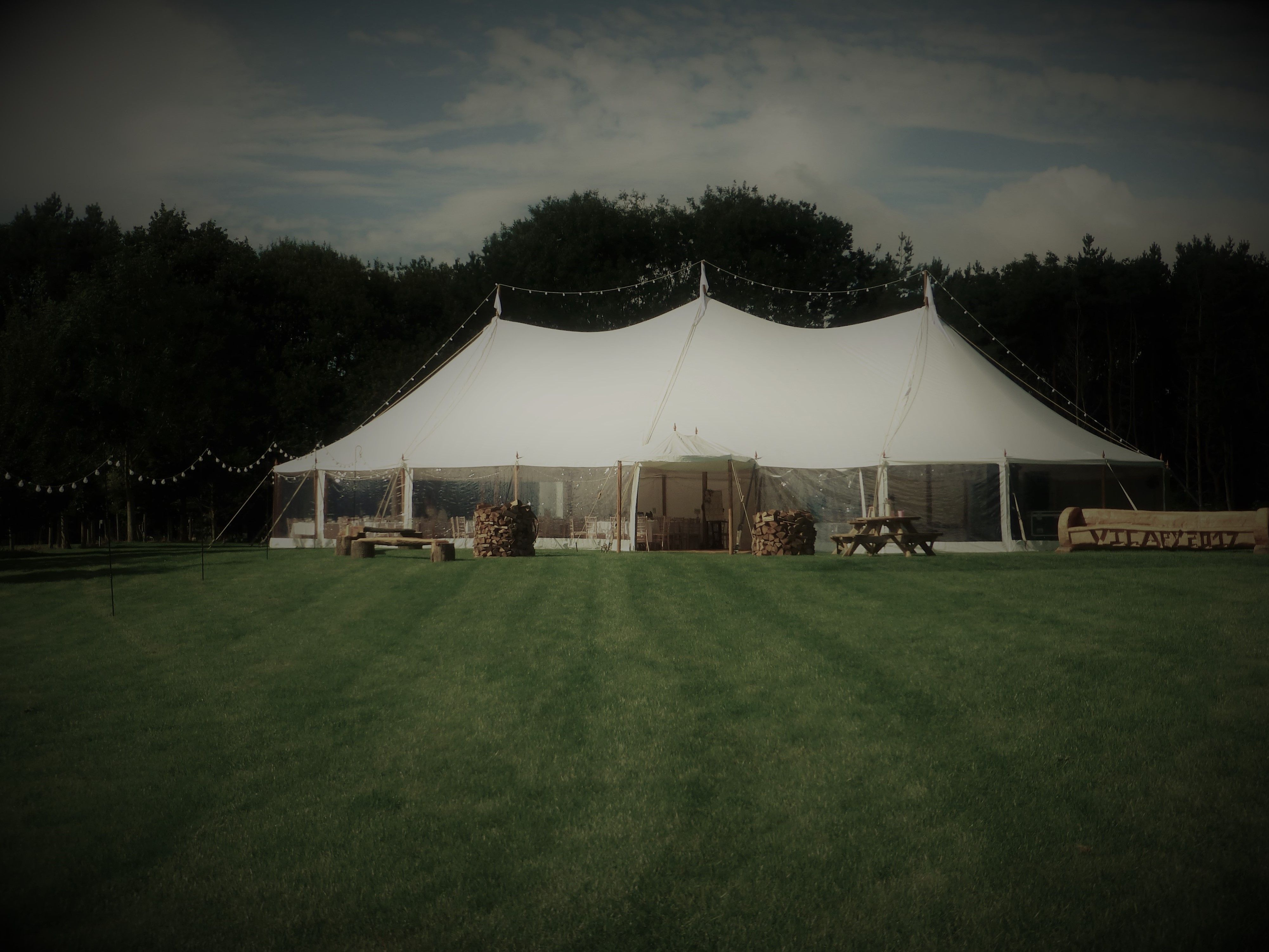 Celeste Vintage Pole Marquee For Weddings And Parties Furniture Hire Marquee Marquee Wedding