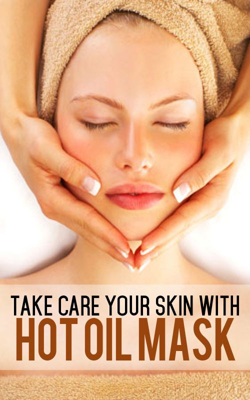 Take Care Your Skin With This Hot Oil Mask