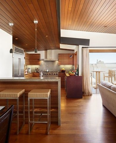 Manhattan Beach Residence / Contemporary Single Family Property Located On  The Manhattan Beach In California Featuring Beautiful Views Of The Pacific  Ocean ...