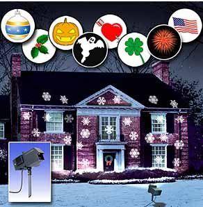 Amazon.com: Mr. Christmas Year-Round Outdoor Lighted Panoramic ...