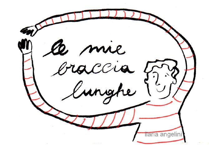 My long arms - Ilaria Angelini Illustrator