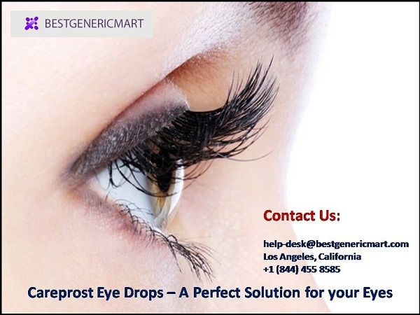 Are you suffering from Eye Pain or any eye problem, just Use Careprost Eyedrops. Bimatoprost Careprost Eye Drops also gives you longer and thicker eye lashes. http://bit.ly/1RPiGjQ