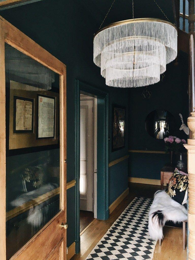 The Hallway Reveal Blue Hallway Dark Hallway Hallway