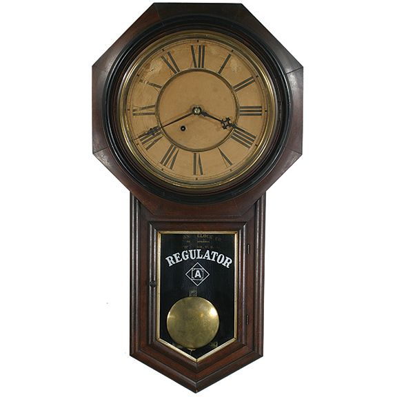 Antique Ansonia Regulator A Clock | Clocks | Clock, Clock parts