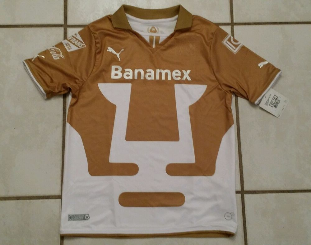 best service ff82c 5c7c2 NWT PUMA Pumas Unam Mexico Soccer Jersey Youth Large   Youth ...