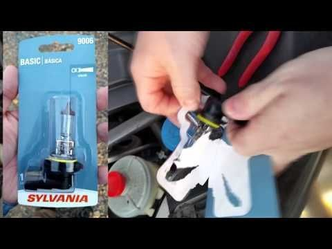 How To Replace A 2006 Honda Odyssey Headlight Bulb Hondaodyssey