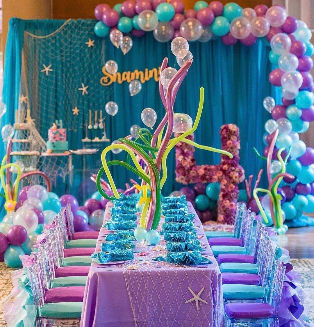 Pin by J B on Mermaid Party Pinterest Mermaid Mermaid parties