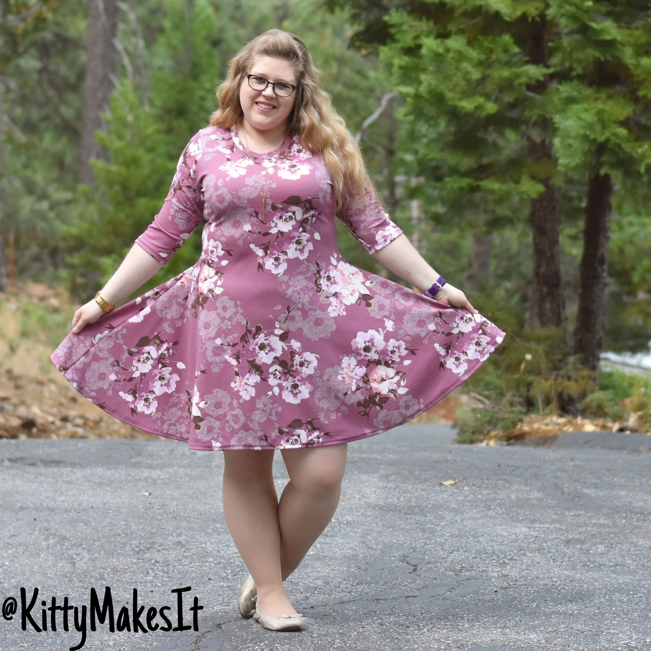 Cute pink princess dress easy sew for beginners learning