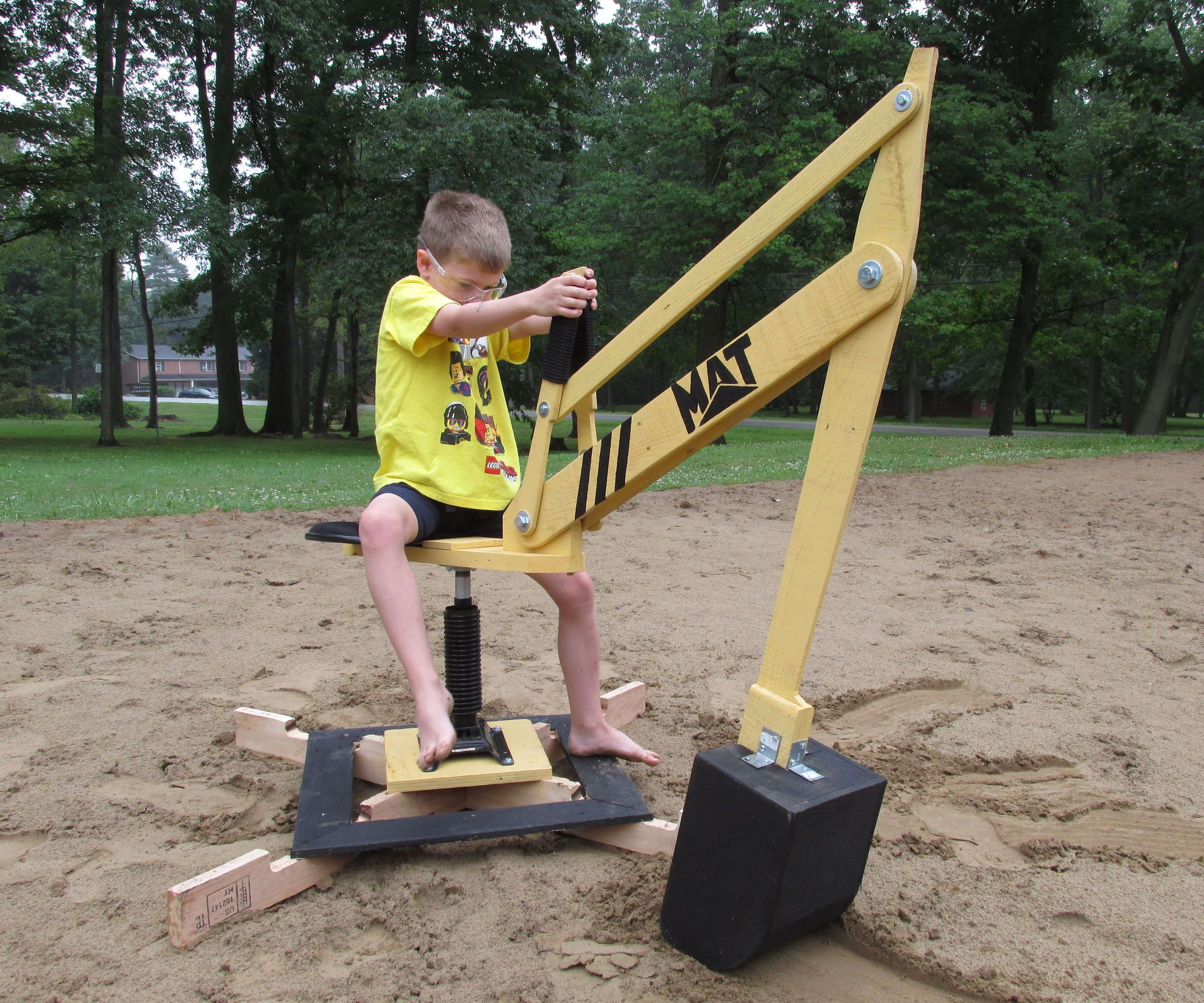 Sand Digger: Made From Recycled Pallets | Pallets ...