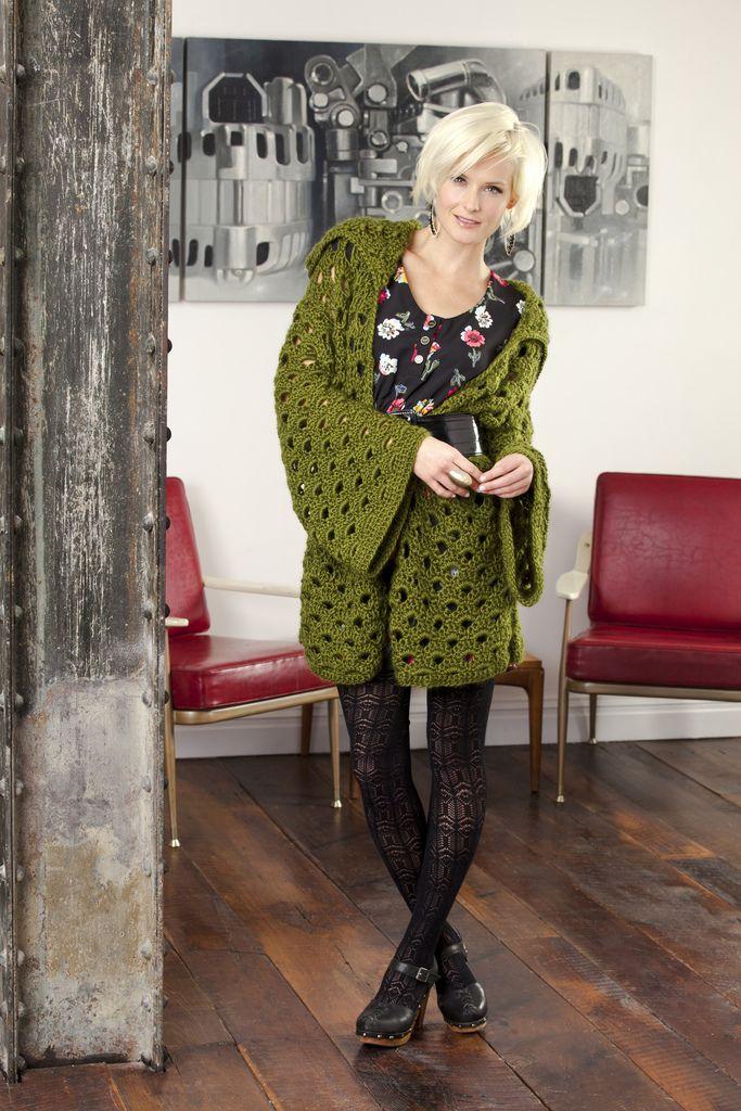 Vickie Howell | Blog: NEW SHEEP(ish) PATTERN: Penny Arcade Jacket