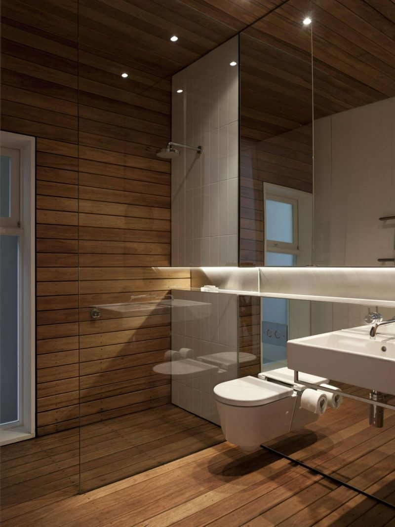 Holzfußboden im Bad: richtige Pflegen für stilvolles Aussehen ...