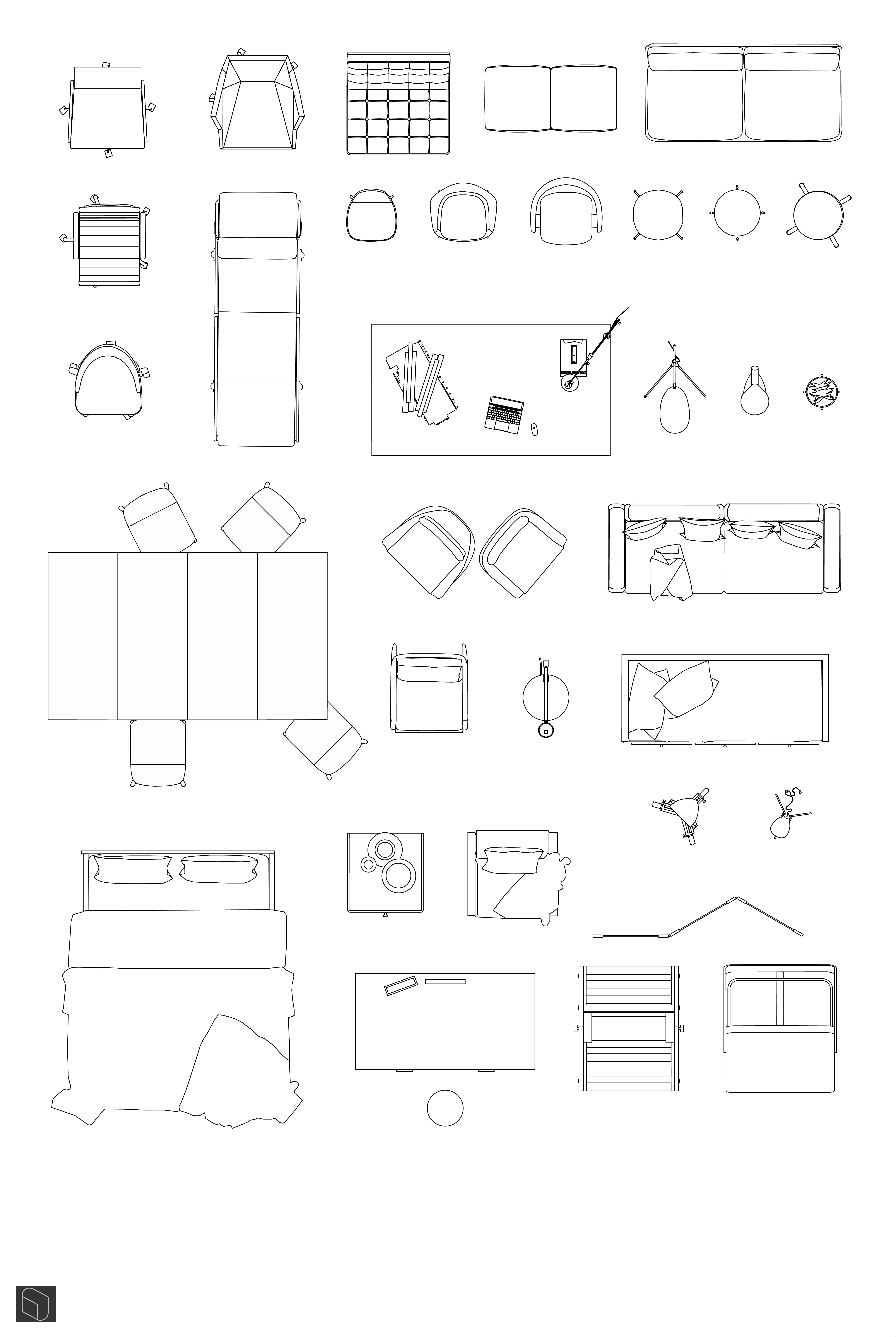 Free Dwg Furniture Plans Toffu Co Eskizy Interernyh Dizajnov Avtokad Parametricheskij Dizajn