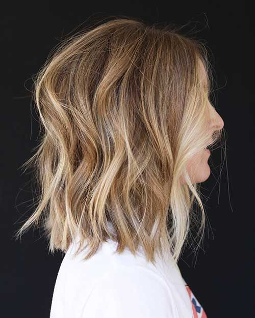 Dark Blonde Balayage Short Hair Dunkelblonde Frisuren Haarfarbe Blond Dunkelblondes Haar Mit Highlights