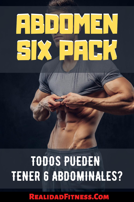 Abdomen Six Pack Todos Pueden Conseguir 6 Abdominales Abdominales Abdomen Fitness