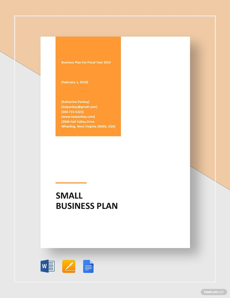 Small Business Plan Template Free Pdf Google Docs Word Apple Pages Pdf Template Net Small Business Plan Template Business Plan Template Free Small Business Plan Business plan template word doc