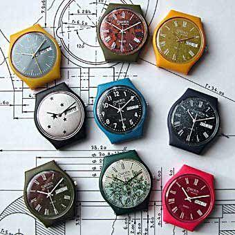 Swatch prototypes 1982