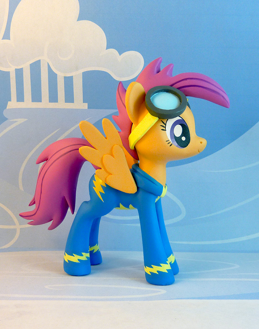 Scootaloo Wonderbolt Figure My Little Pony Pictures My Lil Pony Pony Derped on her smile a little and the blue copic marker i. pinterest