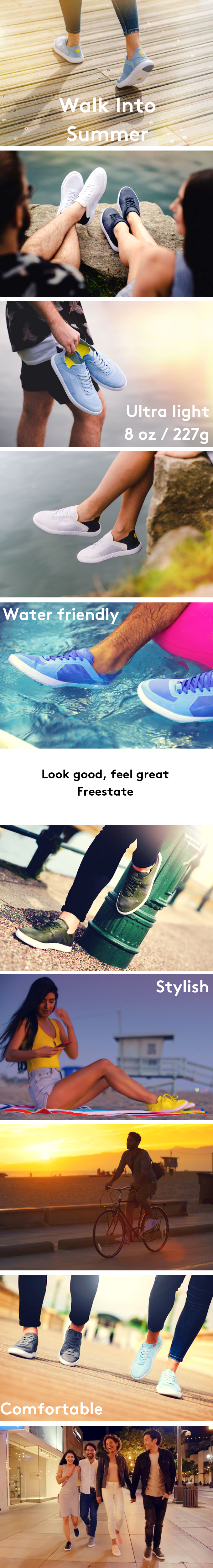 ee25fbb1430e Freestate - Travel shoes have never looked this good. by Ten Thousand  Islands — Kickstarter
