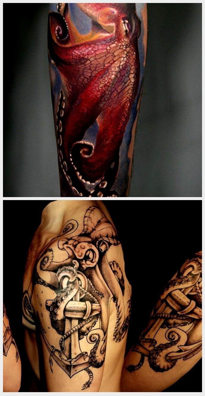 Photo of 55 Awesome Octopus Tattoo Designs, #Awesome #Designs #Octopus #octopustattoothig …