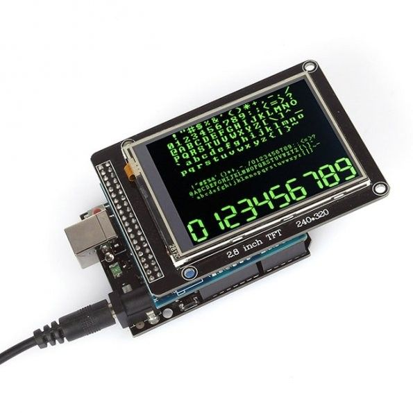 Uno R3 2 8 Tft Lcd Touch Screen Tft Lcd Shield Kit For Arduino