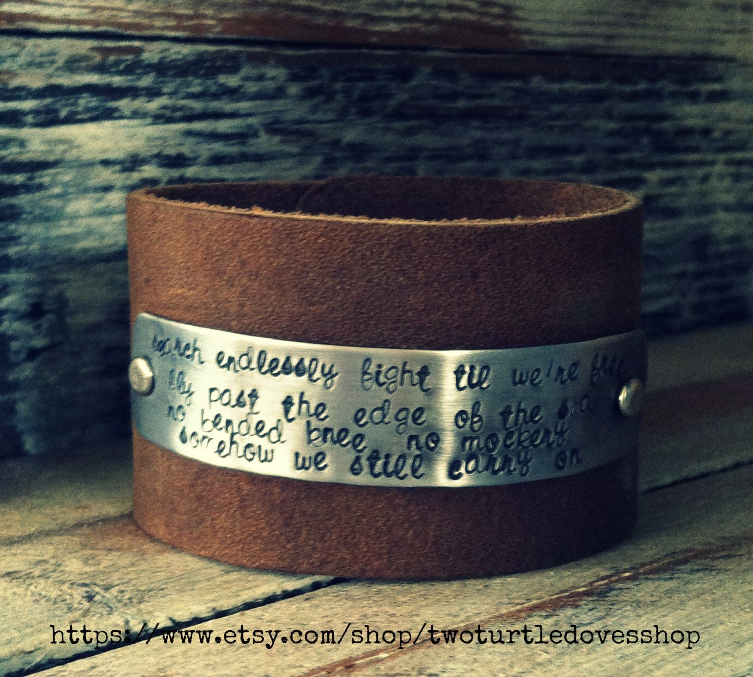 Limited Edition Cuff Bracelet Avenged By Twoturtledovesshop