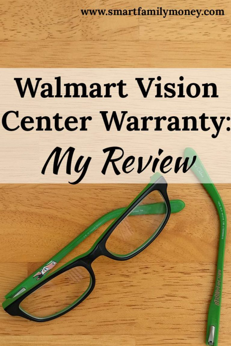48acacf3c2 I always wondered what it was like to use the Walmart Vision Center  12-month Guarantee. It seems like a pretty good glasses warranty!