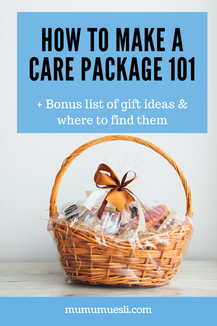 How to Make a Care Package 101 |‌ ‌Vegan Gift Baskets (Ideas + Inspiration) #boyfriendgiftbasket