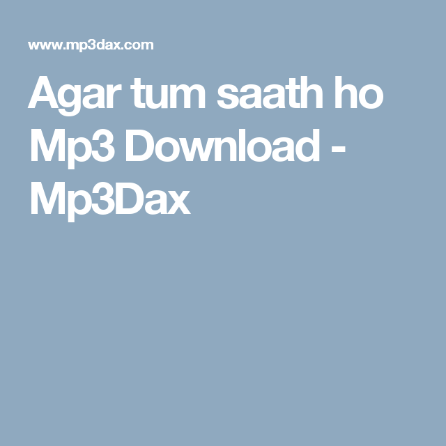 Agar Tum Saath Ho Mp3 Download Mp3dax Major Lazer Mp3 Chainsmokers