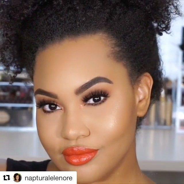 WEBSTA @ makeupaddictioncosmetics - 💙✨💙✨Tutorial time with @napturalelenore!Tools: #MakeupAddictionBrushes.#MakeupAddictionCosmetics