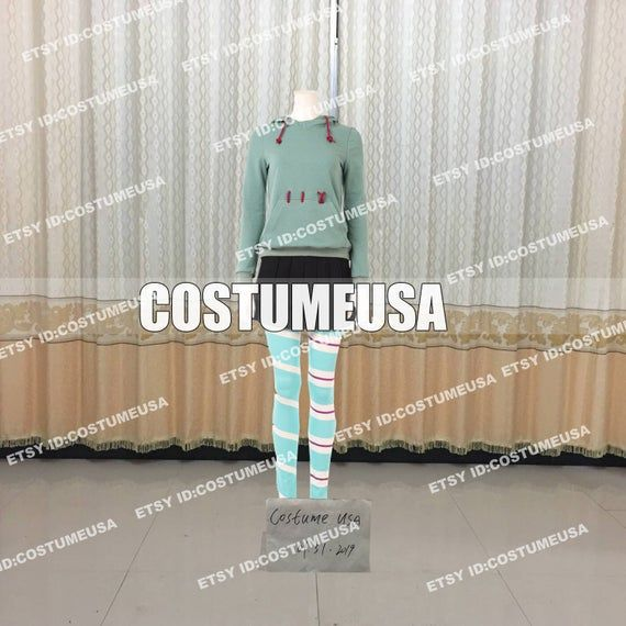 Custom made Size Ralph Breaks the Internet Wreck-It Ralph 2 Vanellope Cosplay CostumeYou will Receieve:FullWe need those custom made size info from you, please.Total Height:Weight:Shoulder Width:Chest/Bust Circumference:Waist Circumference:Hips Circumference:Cell Phone Number:To those who want to make it with standard size, please refer to the size chart. After you choose size chart, we still need some of your actual size. Thanks for your understanding.[****Male Size****]Size----Height----Chest-