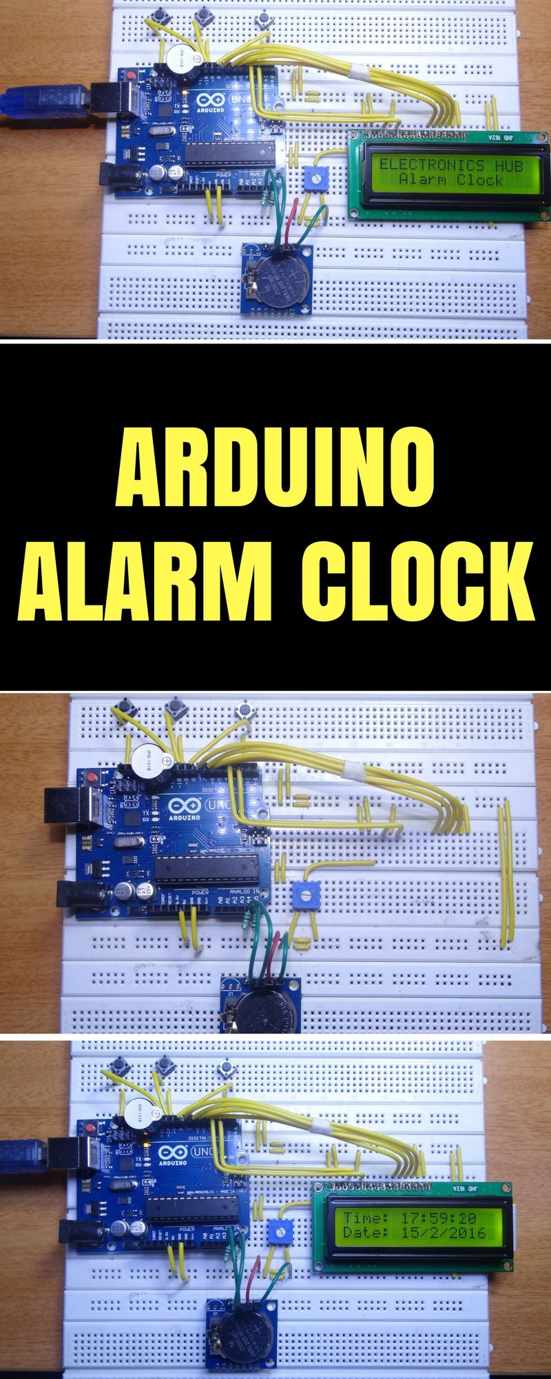Arduino Alarm Clock Elektronica
