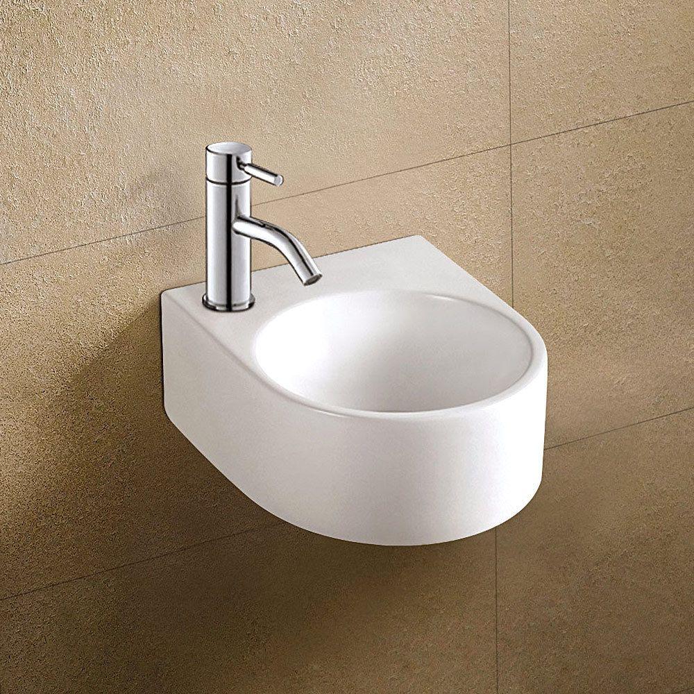 Waschbecken Gäste Wc waschbecken waschtisch für gäste wc keramik handwaschbecken