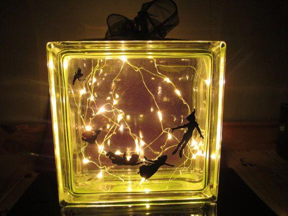 Construction String Lights Personalised Night Light Lamp Kids Peter Panwendy Lamp Custom Made
