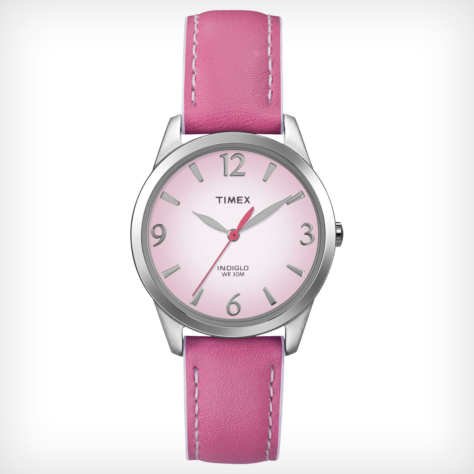 Timex Weekender Strap Timex Timex Pink Leather Leather Straps