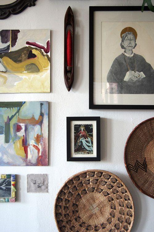 Design Sponge Sneak K Jess Schreibstein S Baltimore Apartment Home Decor Wall Art