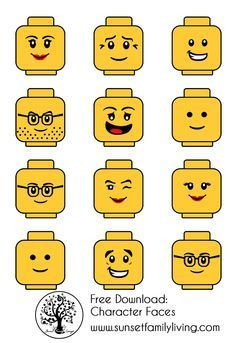 Lego Alphabet Bulletin Boards Google Search Ad Lego Birthday Lego Faces Lego Themed Party