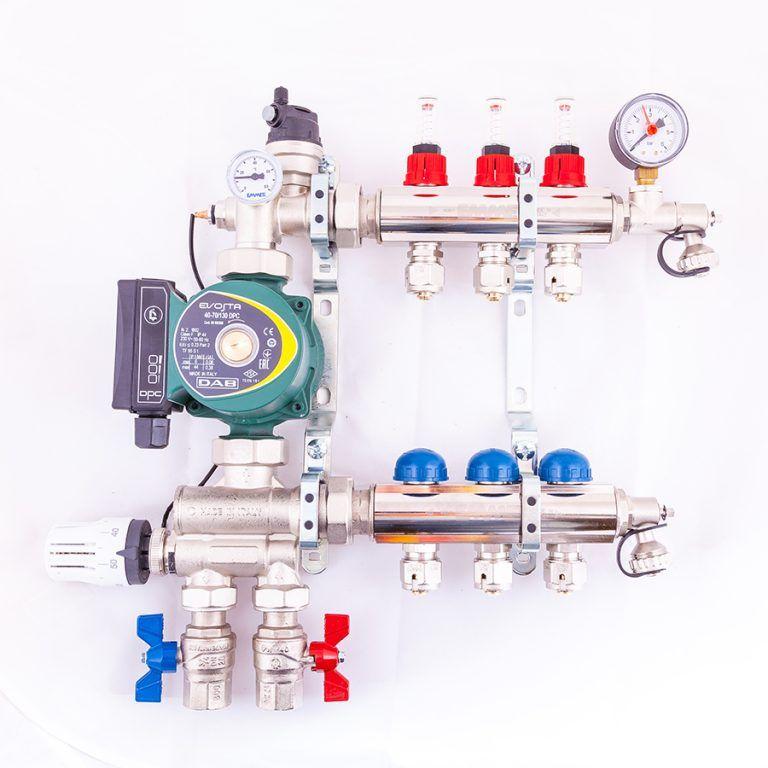 212 port multi zone mixing manifolds uk underfloor