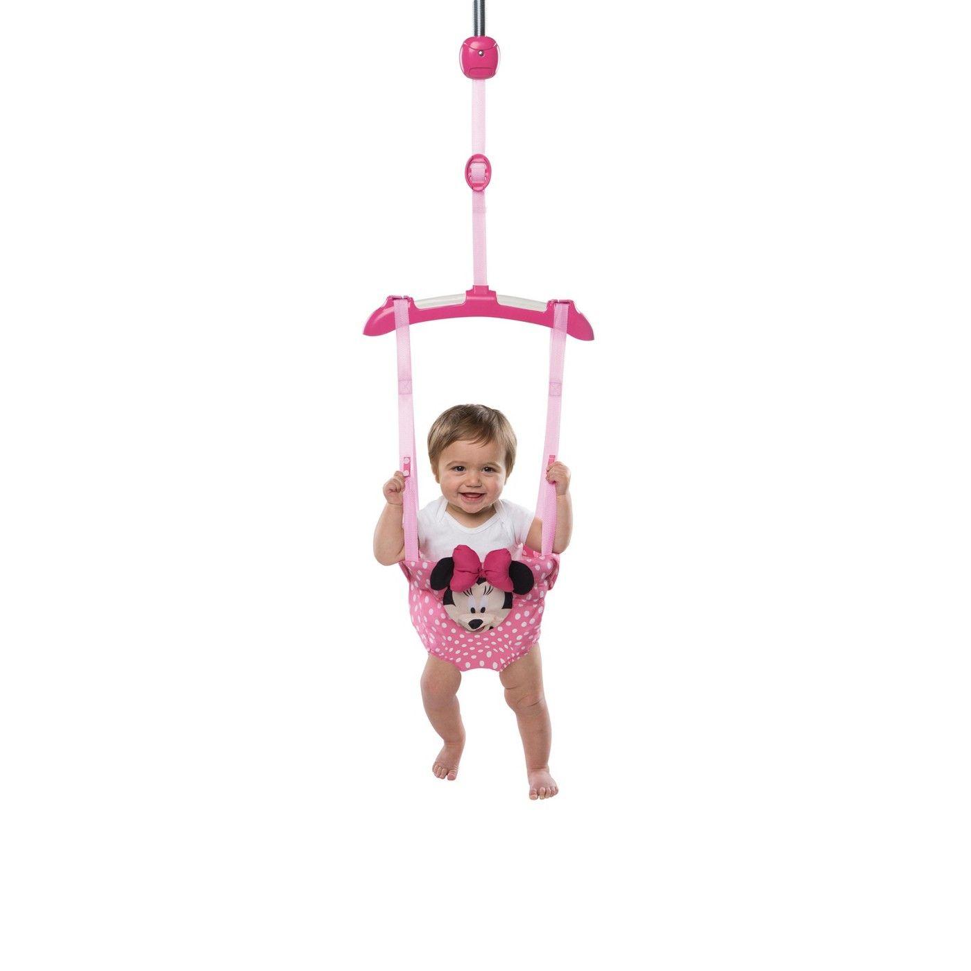 9818f38e445e Disney Baby Minnie Mouse Door Jumper  Minnie
