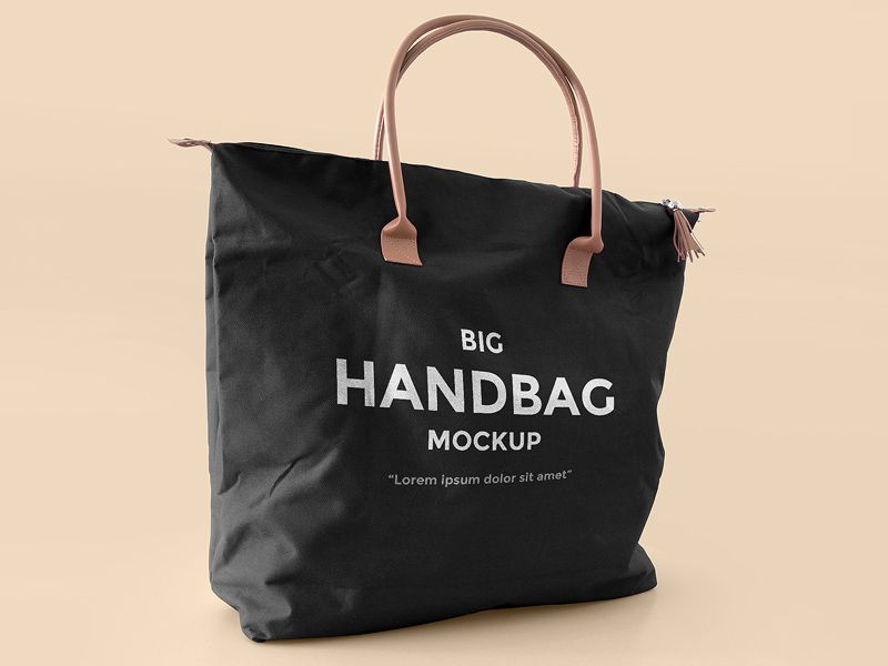 Download Freebie Big Handbag Mockup Bag Mockup Big Handbags Mockup Free Psd